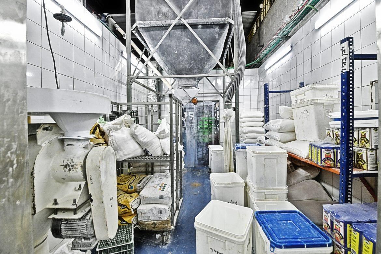 פרויקט תכנון מלא של מפעל לחמנינה