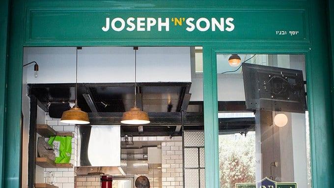 """פרויקט ליווי תהליך ההקמה משלב הרעיון של Joseph """"N"""" Sons - דוכן פיש אנד צ'יפס בהשראה לונדונית"""
