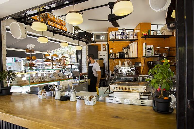 פרויקט תכנון מלא של המטבח קפה + ליווי הקמה של הקסטל בית קפה