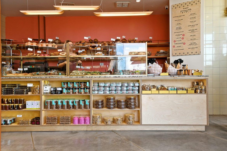 פרויקט תכנון מטבח מלא ועמדות העבודה של לחמנינה - מאפיית בוטיק ובית קפה