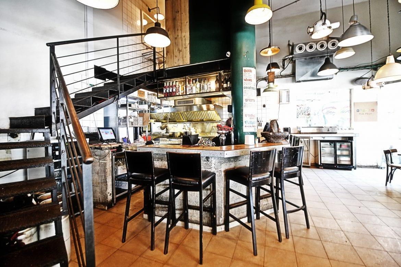 פרויקט תכנון מלא של סניפי המזנון - אוכל רחוב תל אביבי מוגש בפיתות גורמה