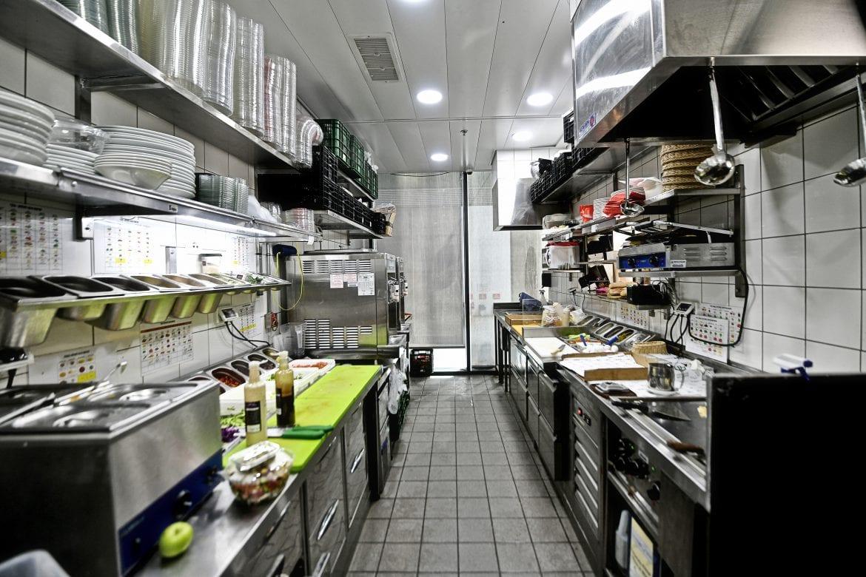 ניהול פרויקט מלא ותכנון מטבח של רשת ארומה TLV