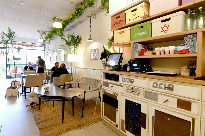 פרויקט תכנון מטבח + בר של זוריק - בית קפה שכונתי ומיוחד בתל אביב