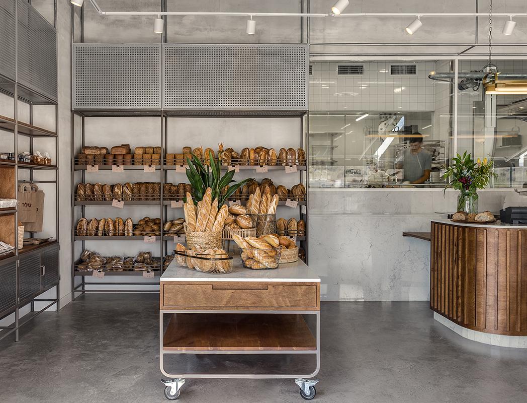 פרויקט תכנון מטבח מלא של מאפיית טלר