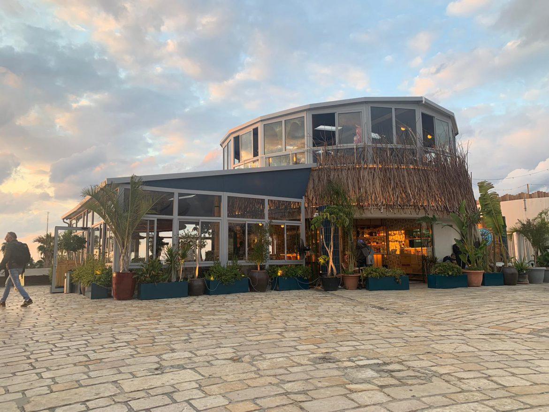 פרויקט תכנון מטבח מלא לבר מסעדה ים תיכונית Por Do Sol