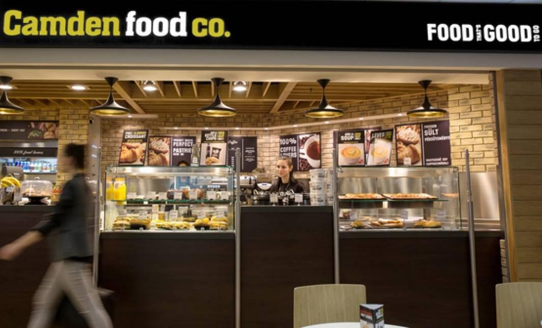 """פרויקט תכנון מטבח ודלפק הגשה CAMDEN FOOD CO - בית קפה נתב""""ג"""